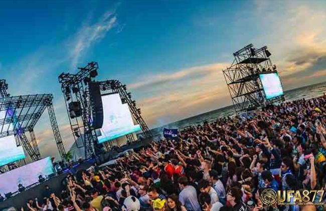 音乐节Stress Free Music Festival@清莱2