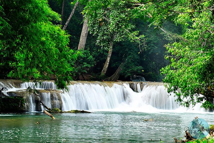 Chet Sao Noi 瀑布